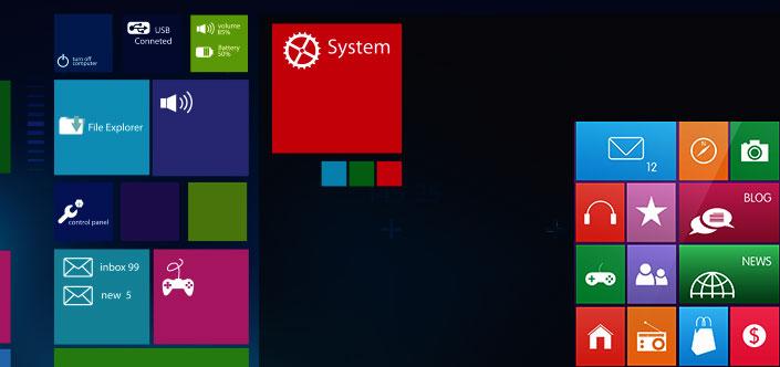 Windows 10 Oberfläche